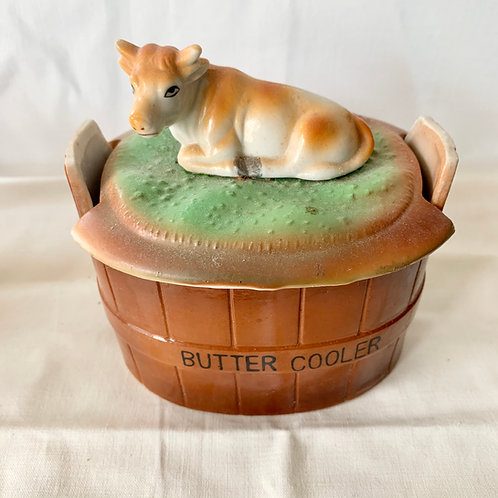 1950s  BUTTER DISH