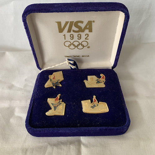 1992 Commemorative set of lapel pins