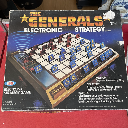 The Generals - Board Game Ideal Games 1979/80