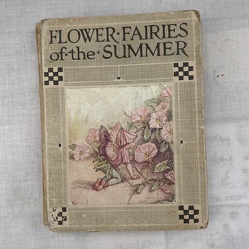 1920s Flowers Fairies of the summer