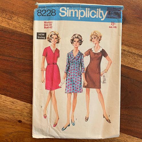 Simplicity 1960s dress pattern