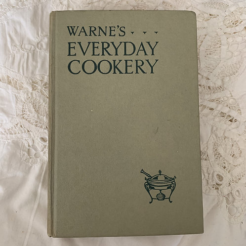 WARNE'S EVERYDAY COOKERY 1965 Edition