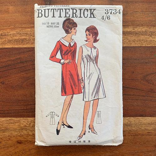 1960s Butterick Pattern