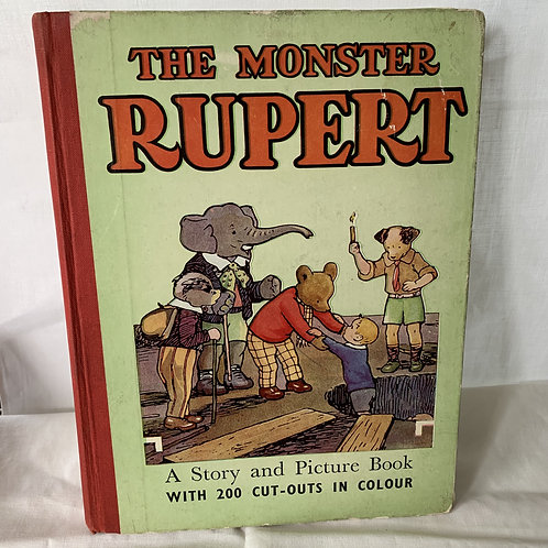 The Monster Rupert 200 cut outs in colour 1950