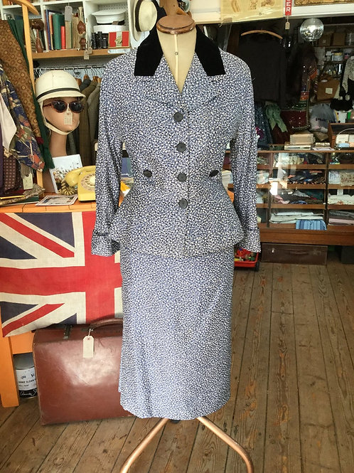 1950s Hardy Amies suit