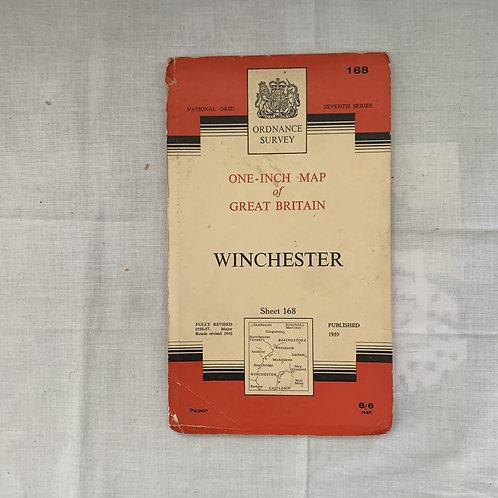 Ordnance Survey - WINCHESTER