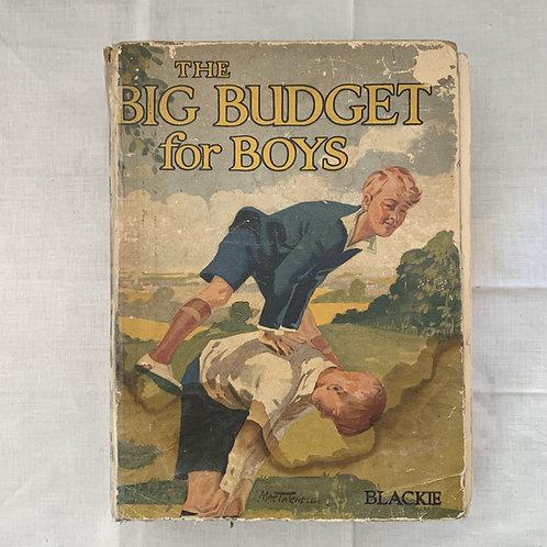 1930s Big Budget Book For Boys
