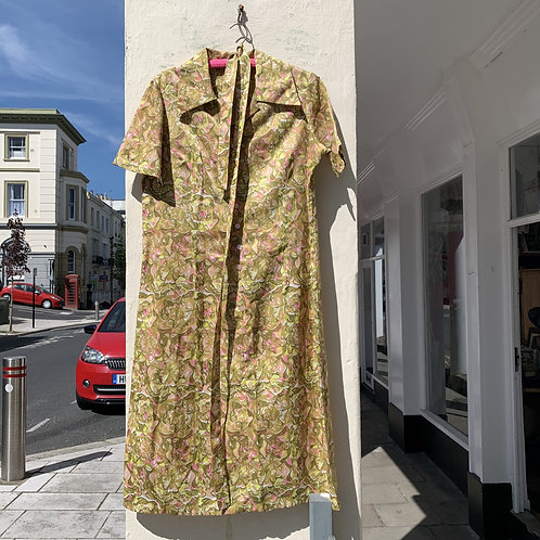 1960's Floral Dress