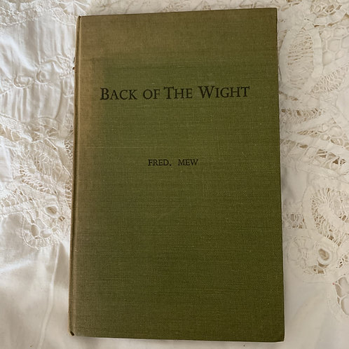BACK OF THE WIGHT 1951 Edition