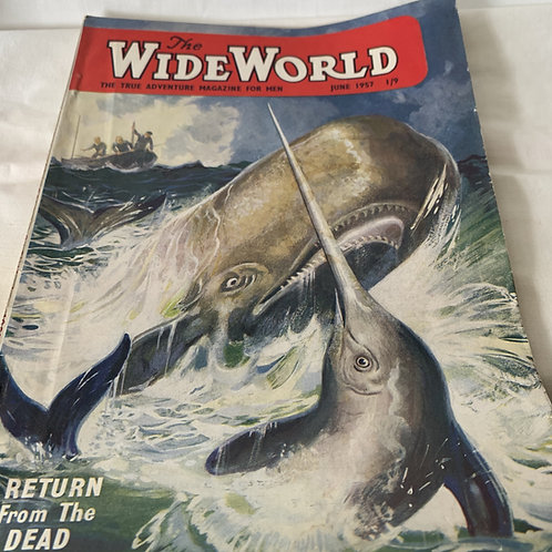 1950s THE WIDE WORLDS MAGAZINES