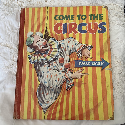 1955 COME TO THE CIRCUS
