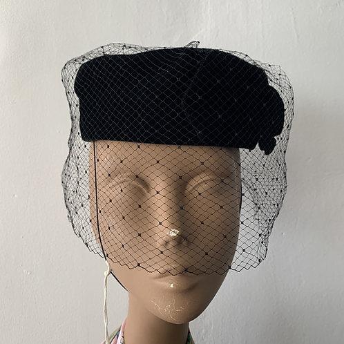 1940s - Style Pillbox Hat