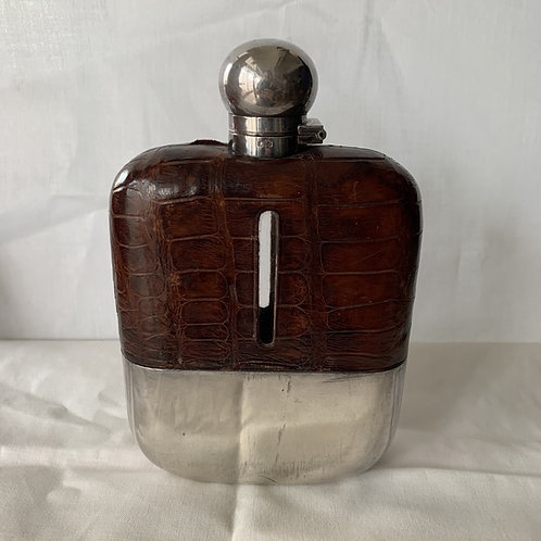 Antique 1890s Hip Flask