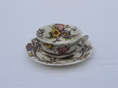 Alfred Meakin Medway Decor Tea Cup & Saucer