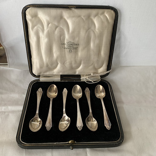 Antique Sterling Silver Demitasse coffee spoons
