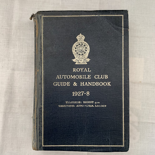Royal Automobile Club Handbook
