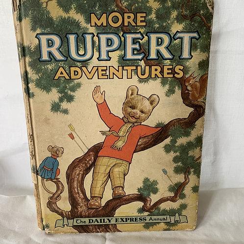 MORE RUPERT ADVENTURES - 1952
