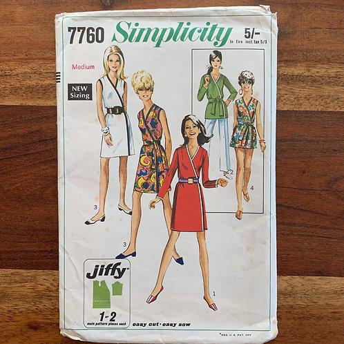 1968 Simplicity Pattern