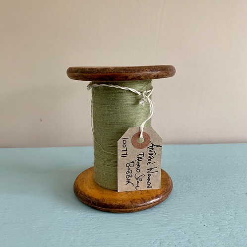 Antique Wooden Thread Spool Bobbin