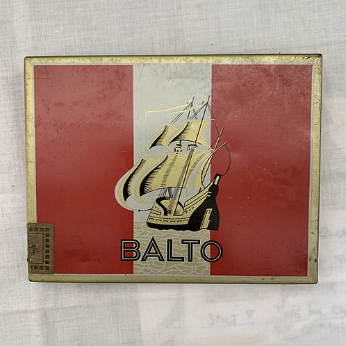 Vintage BALTO Cigarette Tin