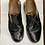 Thumbnail: Black Leather Solovair shoes size 14