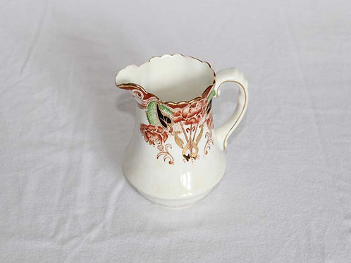 19th Century Floral Milk Jug