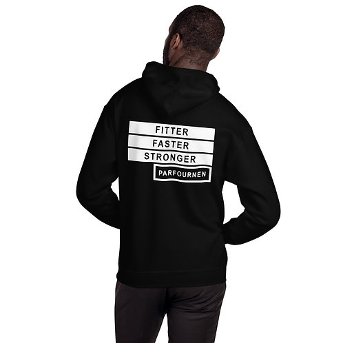 Fitter Faster Stronger Hoodie