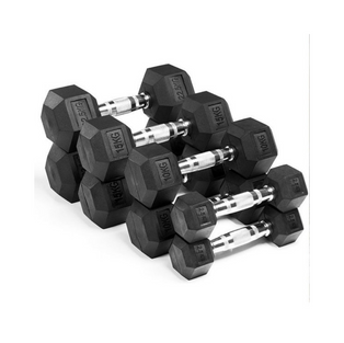 180 Evolve Hex Dumbbell Weights