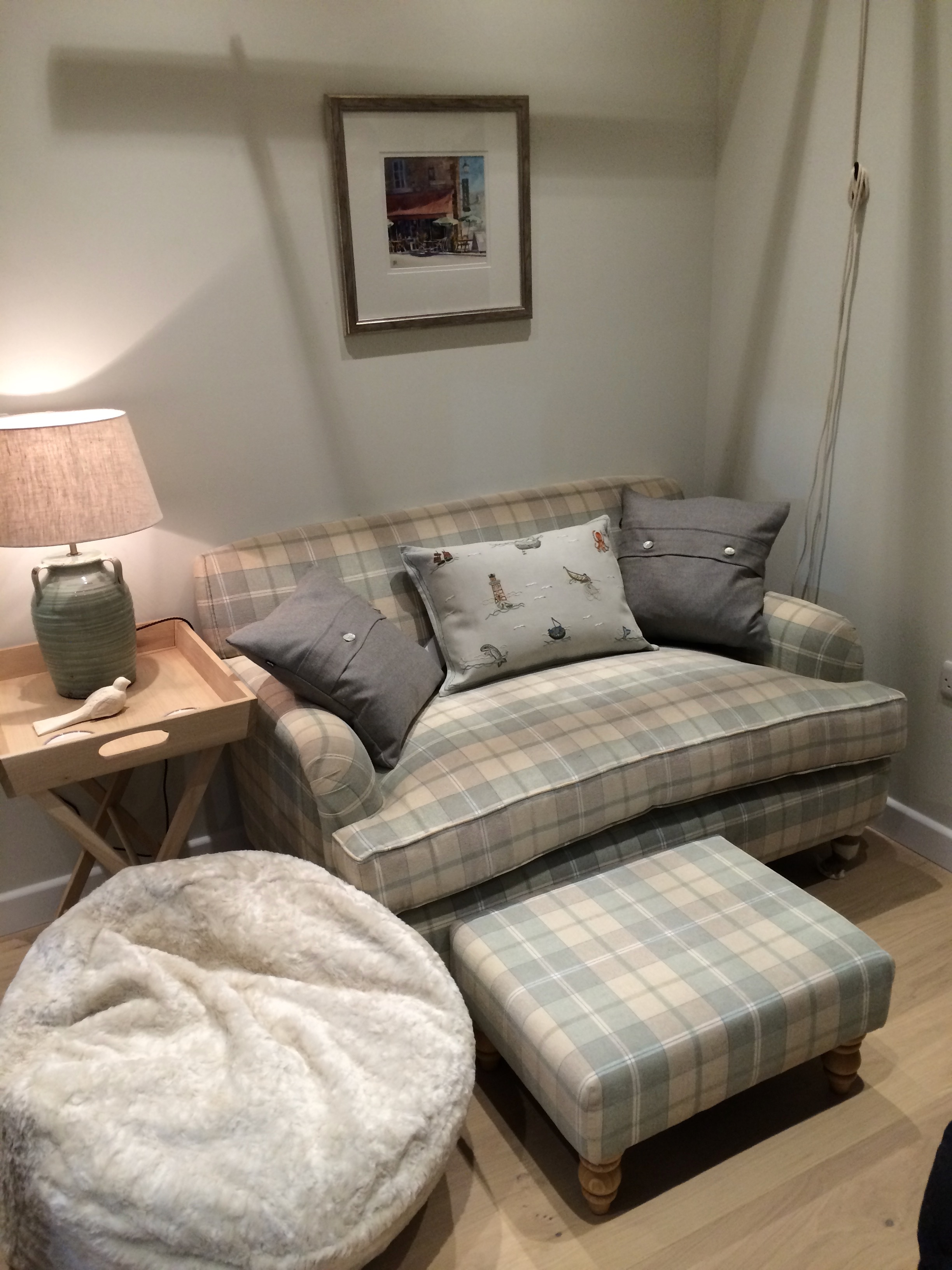 SCOTTISH BOTHIE COTTAGE - Snug + TV Area