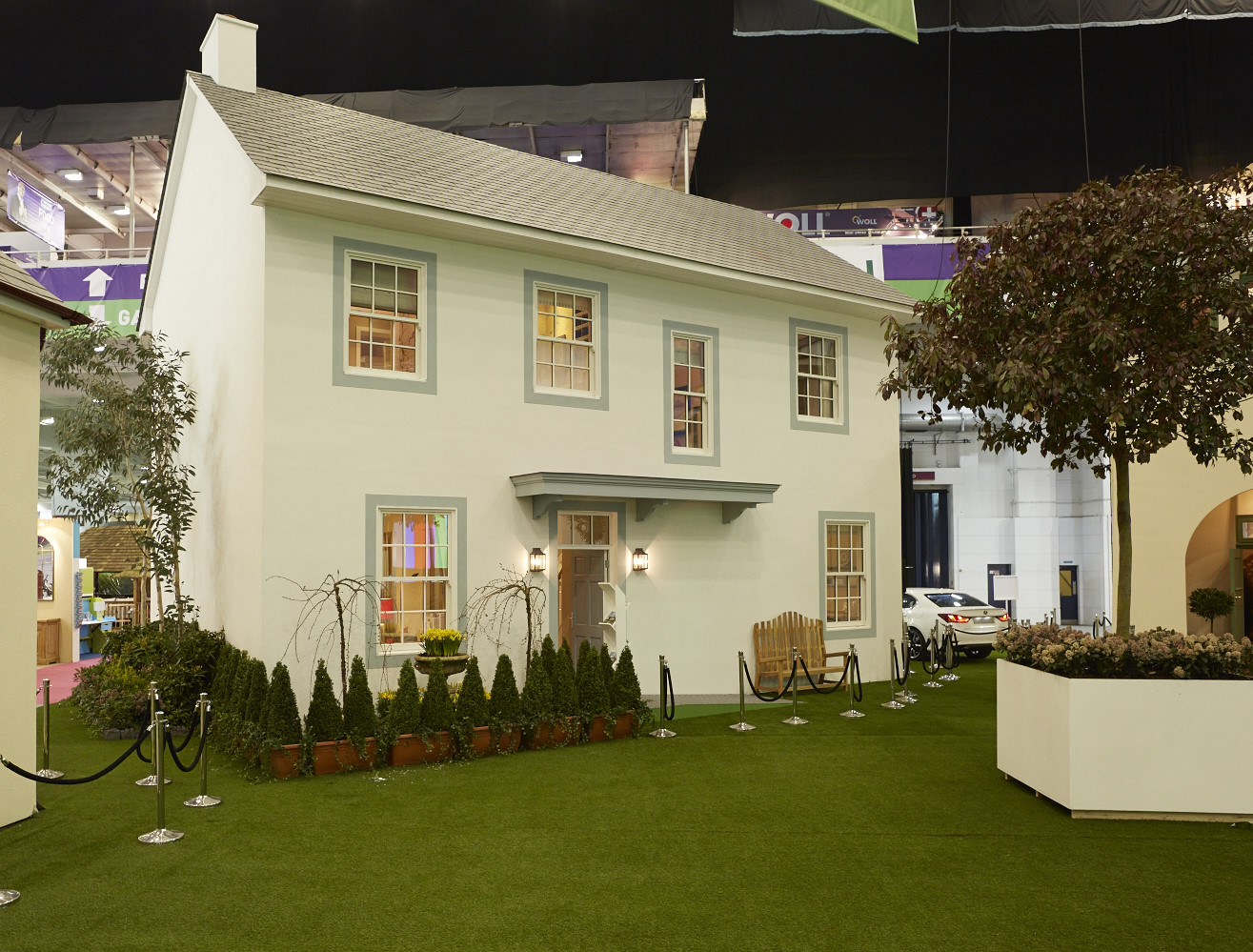 SCOTTISH TRADITIONAL VERNACULAR - IDEAL HOME SHOW 2014 - External Exhibit