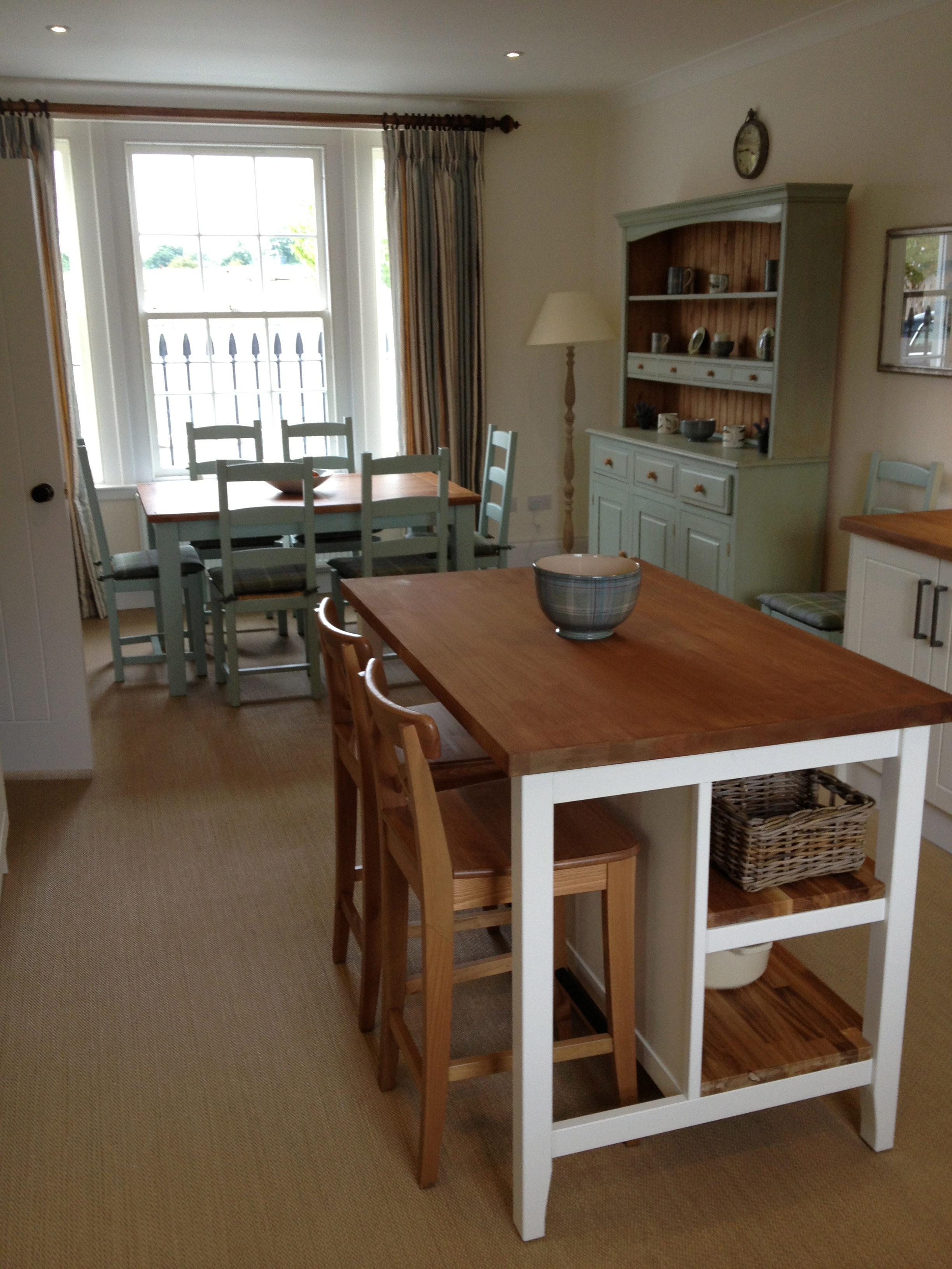 KIRK HOUSE, Knockroon - Kitchen Worktop + Dining