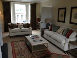 KIRK HOUSE, Knockroon - Sitting Room Sofas + Ottoman
