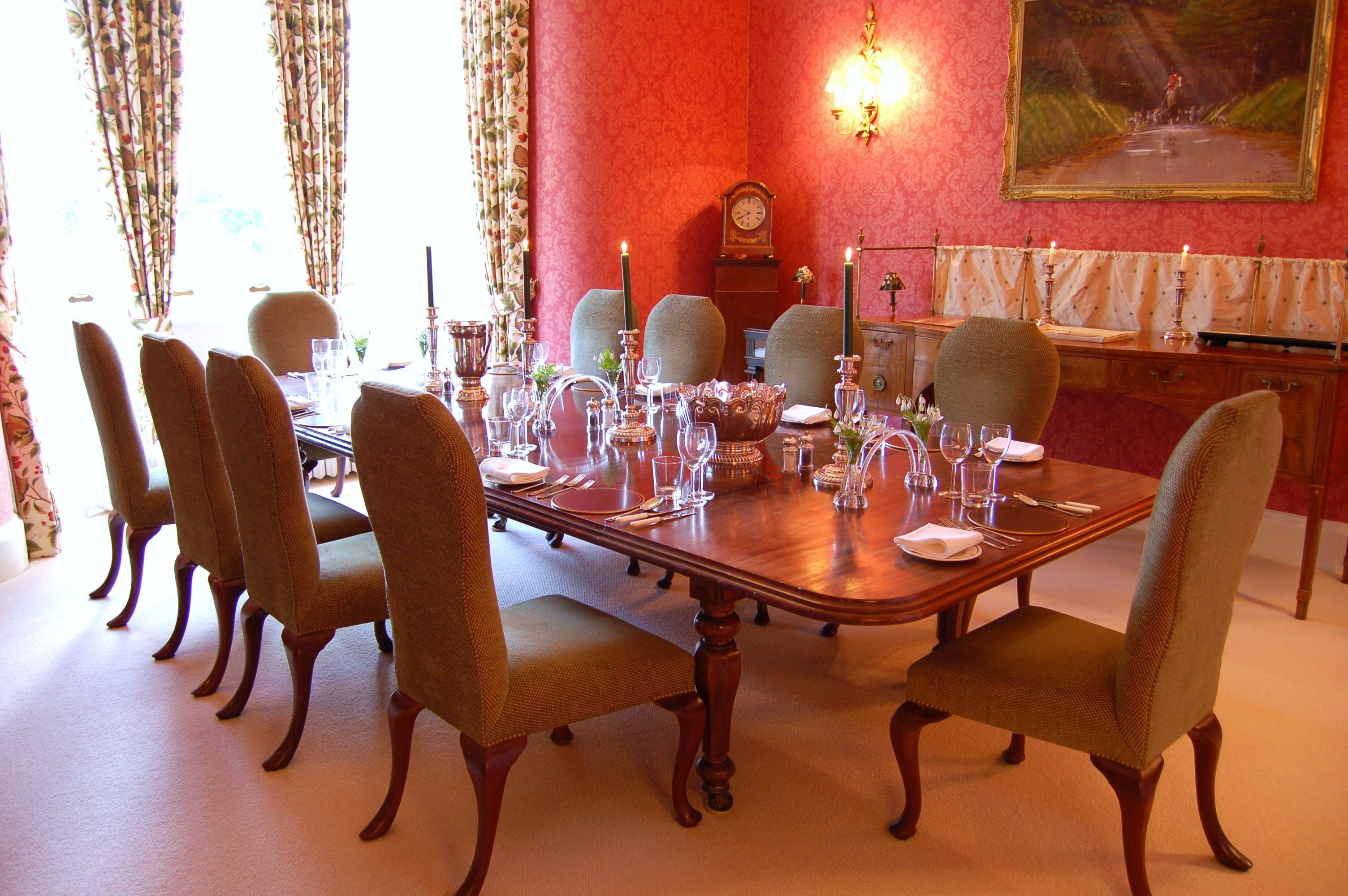 HILLHOUSE - East Wing Dining Room