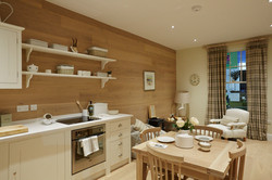 SCOTTISH BOTHIE COTTAGE - Open Plan Kitchen / Living Area