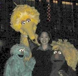 Vivian Chang Freiheit, Sesame Street, Big Bird