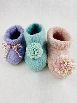 Toddler Felted Booties