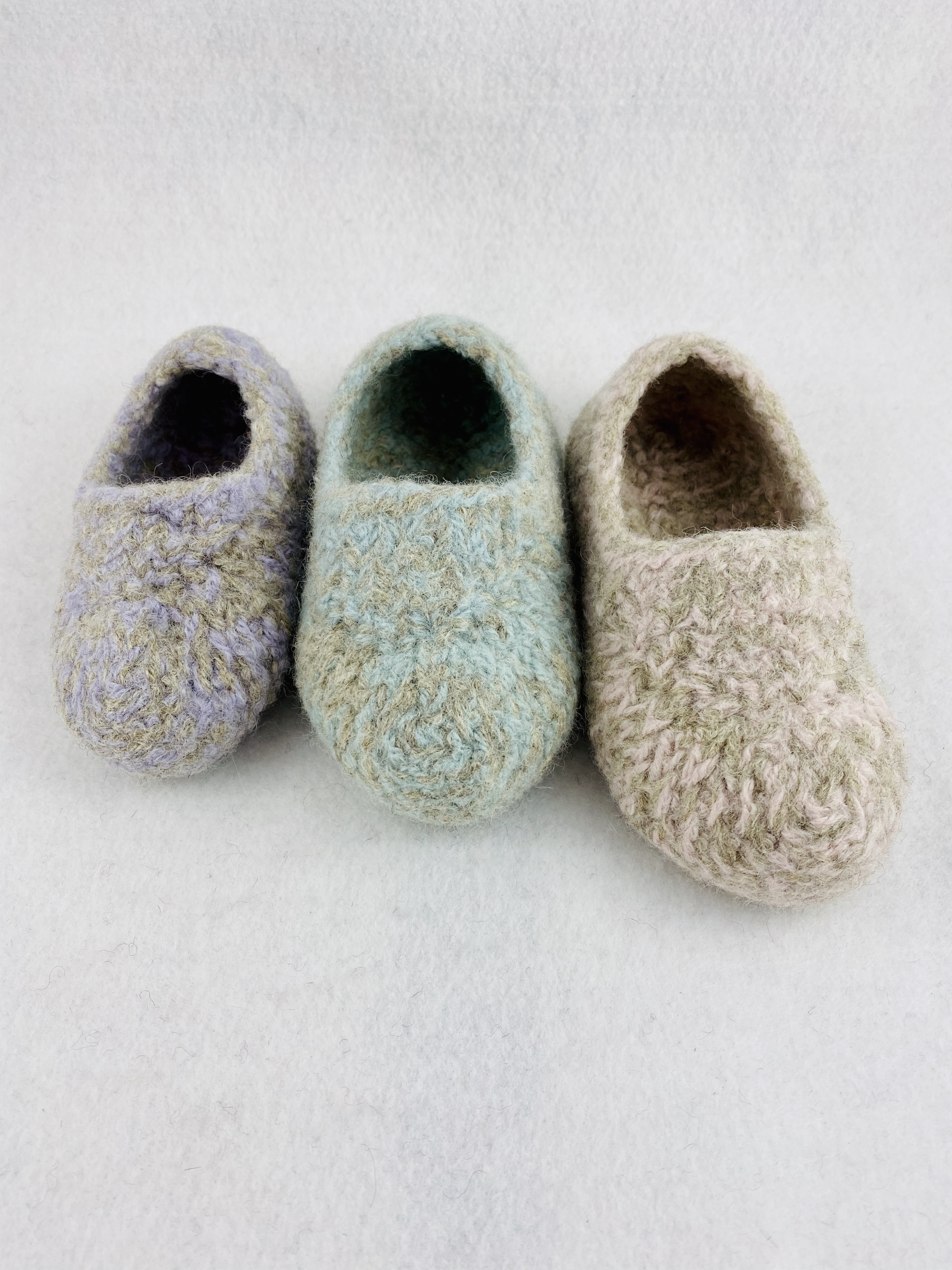 Toddler Felted Slippers