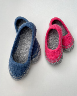 KIds & Toddlers Spring Felted Slippers