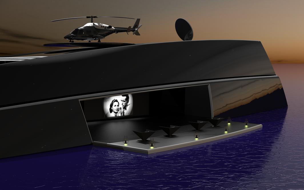 ONO Megayacht Aras Kazar Yacht Design 6.