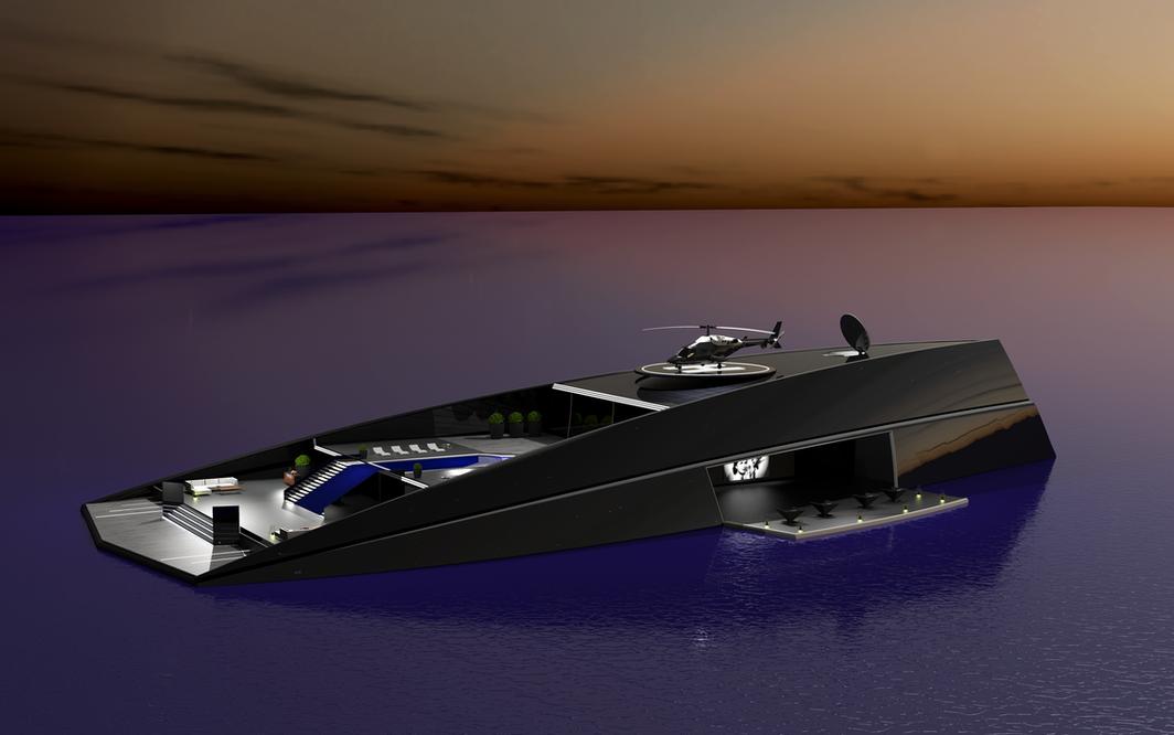 ONO Megayacht Aras Kazar Yacht Design 2.