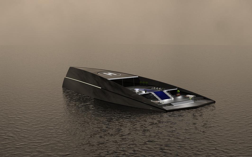ONO Megayacht Aras Kazar Yacht Design 5.