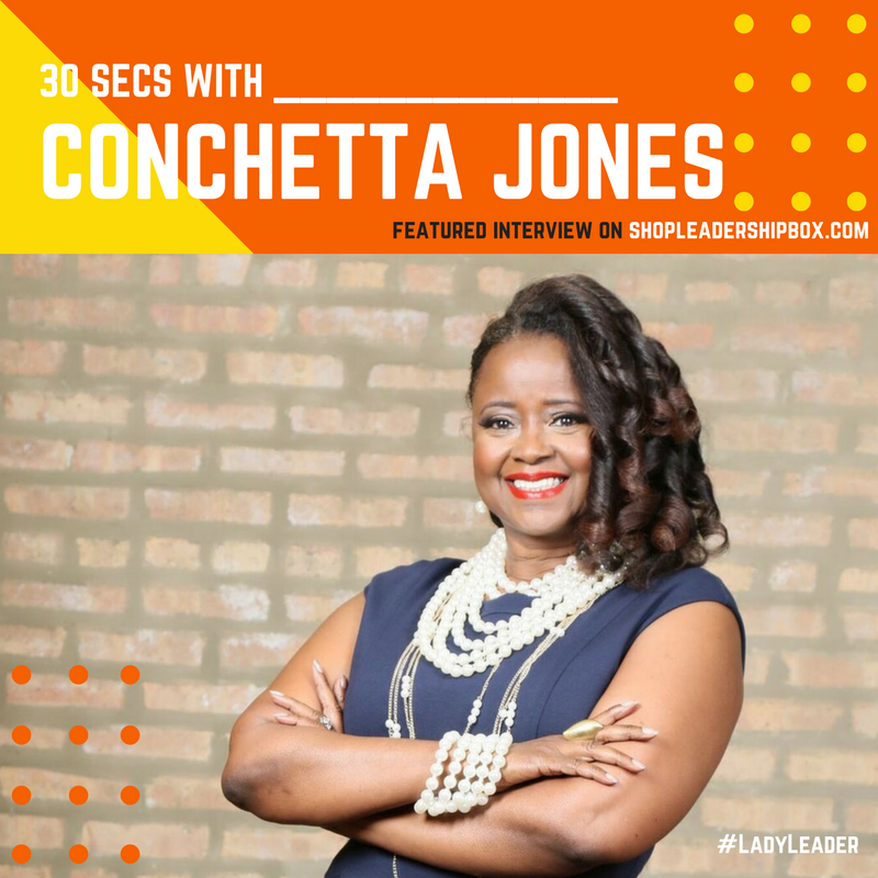 30 Secs with Conchetta Jones