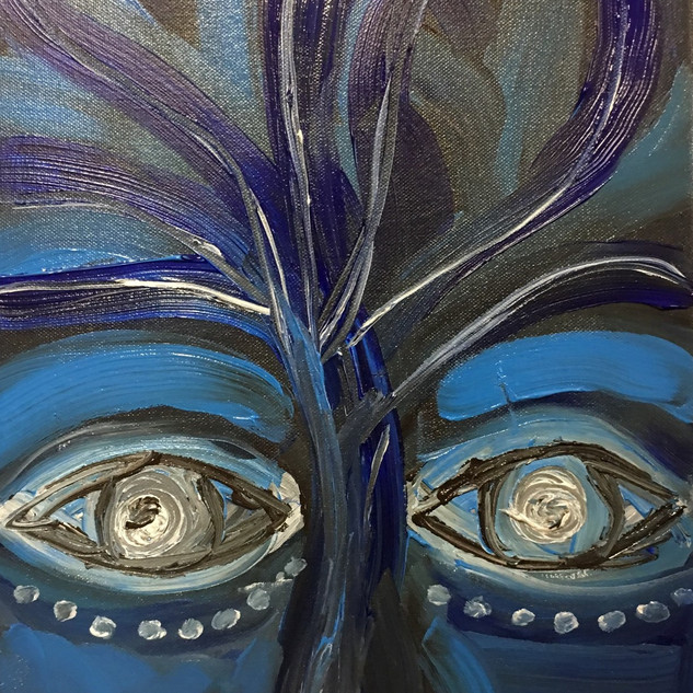EyeAmCreations Reflection Painting Blue Avatar