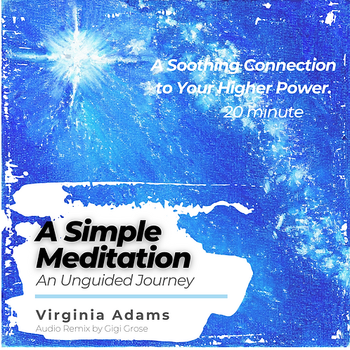 """""""A Simple Meditation """"An Unguided Journey MP3"""