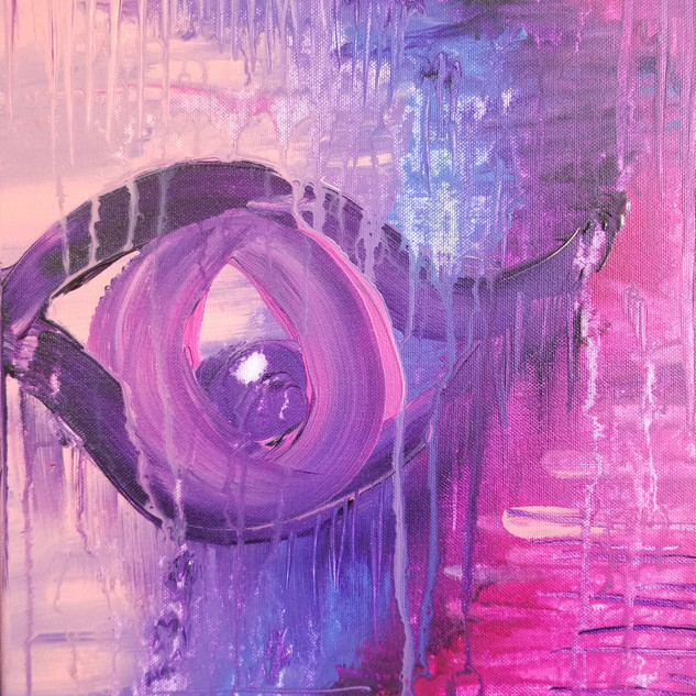 EyeAmCreations Reflection Painting Sorrow