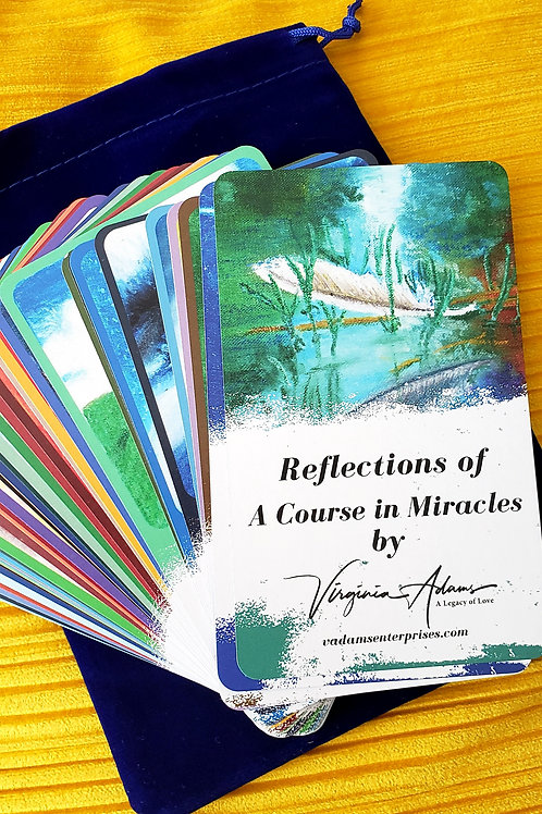 Reflections of A Course in Miracles Card Deck
