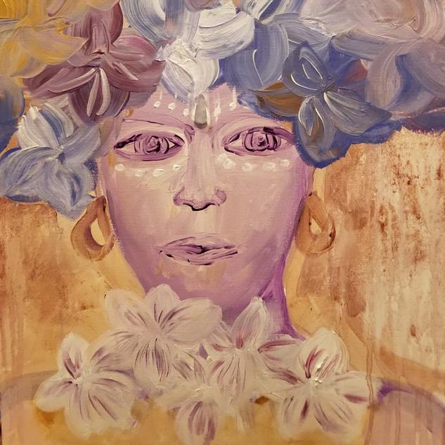 EyeAmCreations Reflection Painting Frida