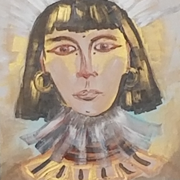 EyeAmCreations Reflection Painting Egyptian