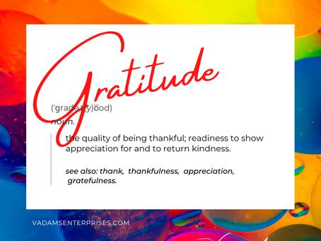 Gratitude Turned Upside Down