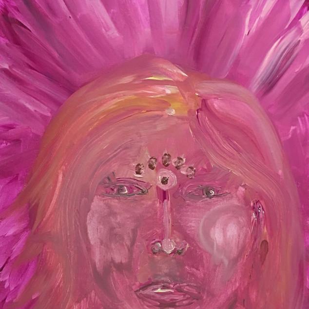 EyeAmCreations Reflection Burning Warrior